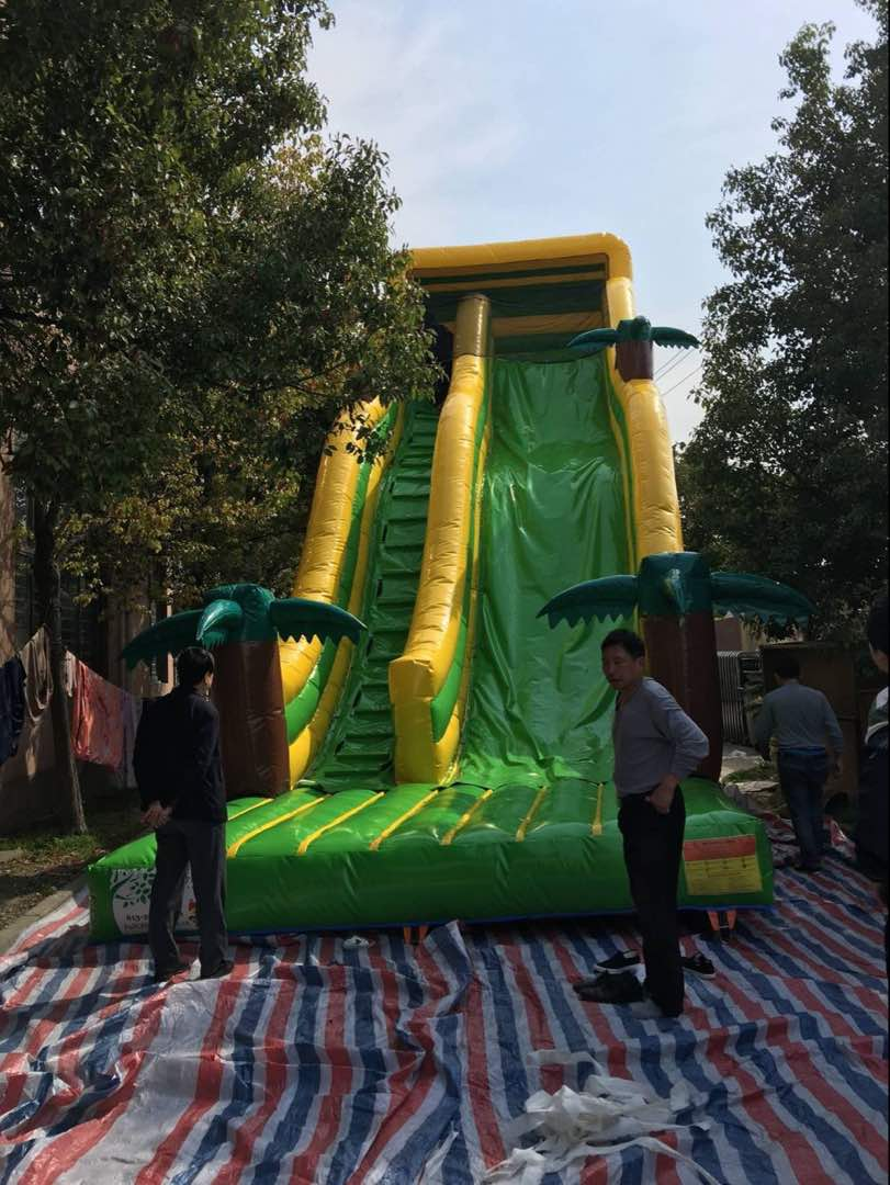 Jungle Slide 695 Full Of Beans Party Rentals